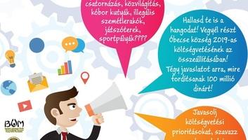 Óbecse: A polgárok a községi költségvetés egy részének felhasználásáról szavaznak - illusztráció