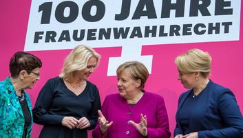 Merkel: Csak a nemek egyenjogúságán alapuló társadalom lehet igazságos - illusztráció