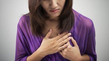 Egyre gyakoribb a szívroham a fiatal nők körében - illusztráció