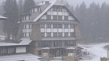 Szerbia: Megérkezett az első hó - illusztráció
