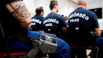 Hazatértek a magyar rendőrök Macedóniából és Szerbiából - illusztráció