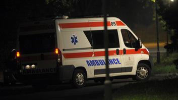 Közlekedési baleset Pecsincénél, 13 sérült - illusztráció