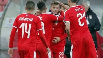 Labdarágás NL: Szerb győzelem Montenegró ellen - illusztráció