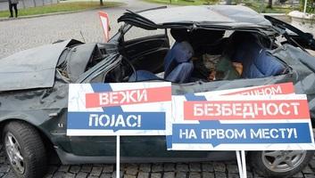 Idén 476 személy halt meg közlekdési balesetben Szerbiában - illusztráció