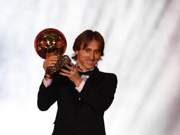 Labdarúgás: Luka Modrić nyerte az Aranylabdát - A cikkhez tartozó kép