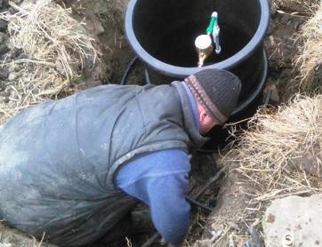 Törökfalu: Felszámolják a szabálytalanul kialakított mérőaknákat - A cikkhez tartozó kép