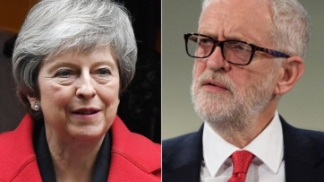 Elmarad Theresa May és Jeremy Corbyn tévévitája - A cikkhez tartozó kép