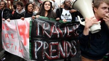 Francia zavargások: A középiskolások megmozdulásai is folytatódtak - A cikkhez tartozó kép