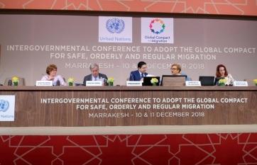 Napi fotó: Elfogadták az ENSZ globális...
