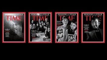 A Time magazin Hasogdzsit választotta az év emberévé több más újságíróval együtt - illusztráció