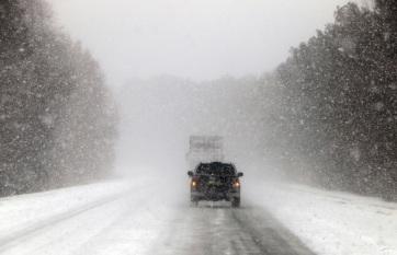 Napi fotó: Fennakadásokat okoz a havazás a...
