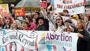 Legalizálta az abortuszt az ír parlament - illusztráció