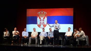 Szabad és tisztességes választásokat követel a szerbiai ellenzék - illusztráció
