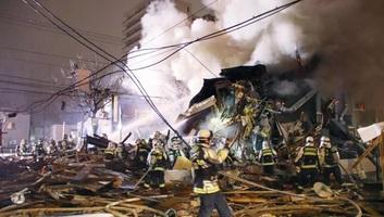 Japán: Hatalmas robbanás történt egy szapporói étteremben - illusztráció