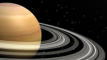 A Szaturnusz felemészti saját jéggyűrűit - illusztráció
