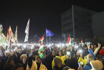 Budapest: Országos figyelmeztető sztrájkot helyeztek kilátásba január 19-ére a szakszervezetek - A cikkhez tartozó kép