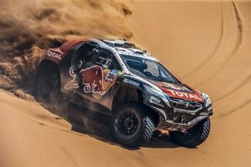 Dakar-rali: Loeb szakaszgyőzelme, Szalayék a 30. helyen - A cikkhez tartozó kép