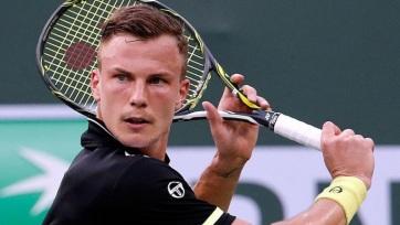 Tenisz: Babos kiesett, Fucsovics továbbjutott - A cikkhez tartozó kép