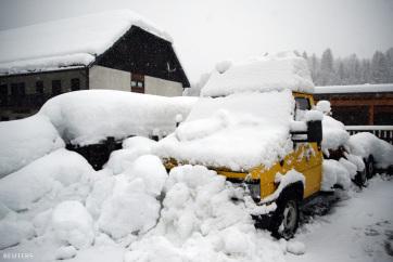 Már 16 ember halt meg Európában a hó és a hideg miatt - A cikkhez tartozó kép