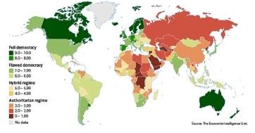 Szerbia továbbra is egy helyben topog a demokrácia-indexet illetően - A cikkhez tartozó kép
