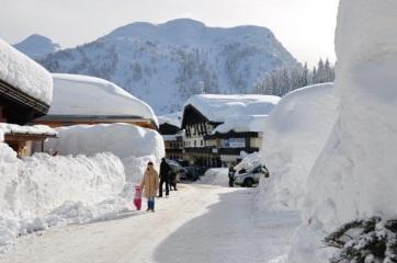 Hóhelyzet Ausztriában: Bevetették a hadsereget - A cikkhez tartozó kép