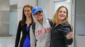 Már Kanadában van a szaúdi családjától elmenekült tinédzser - A cikkhez tartozó kép