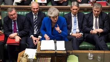 Bizalmat szavazott a brit kormánynak a parlament - illusztráció