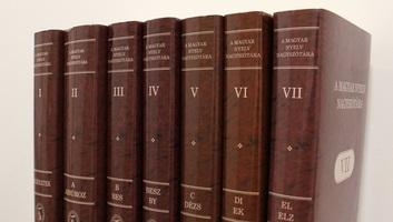 Bemutatták A magyar nyelv nagyszótára hetedik kötetét Budapesten - illusztráció