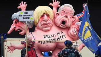 Brexit-káosztól tart a nemzetközi sajtó - illusztráció