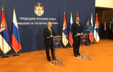 Napi fotó: Aleksandar Vučić szerb államfő és...