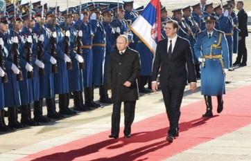Napi fotó: A hivatalos látogatáson Szerbiában...
