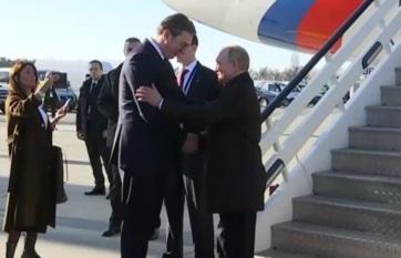 Napi fotó: Vlagyimir Putyin orosz elnök...