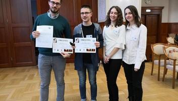 Topolyai gimnazisták csapata nyerte a Wallenberg nyomán vetélkedőt - illusztráció