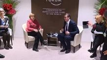 Davos: Vučić találkozott Merkellel - illusztráció