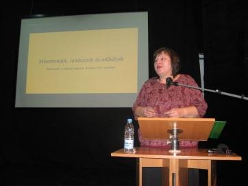 A népmesemondást és a népmesemondó versenyt ünnepelték Zentán - A cikkhez tartozó kép