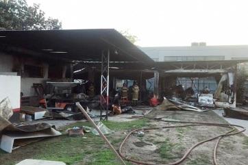 Labdarúgás: Tragédia a Flamengo edzőközpontjában - A cikkhez tartozó kép