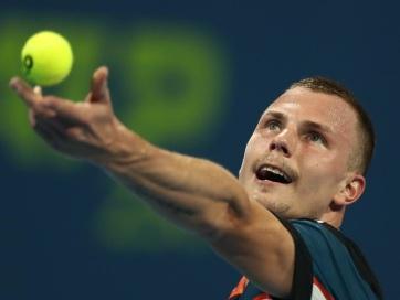 Tenisz : Fucsovics bejutott a szófiai döntőbe - A cikkhez tartozó kép