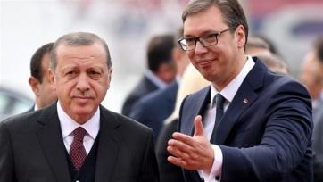 Vučić Szerbiába invitálta a török államfőt - A cikkhez tartozó kép