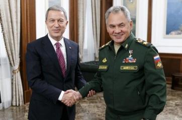 Szíria: Idlíb tartomány biztonságáról tárgyalt a török és az orosz védelmi miniszter - A cikkhez tartozó kép