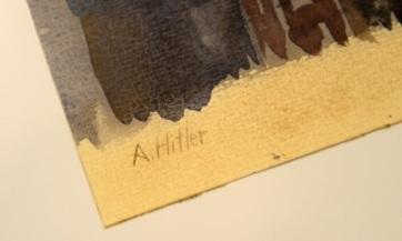 Egyetlen állítólagos Hitler-festmény sem kelt el egy német aukción - A cikkhez tartozó kép