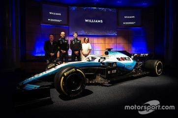 F1: Bemutatta új autóját a Williams - A cikkhez tartozó kép