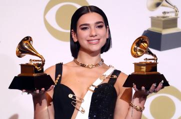 Grammy-díjak: Dua Lipa brit énekesnő lett az év felfedezettje - A cikkhez tartozó kép