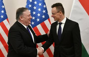 Szijjártó: Újraépül a magyar-amerikai kapcsolatok politikai pillére - A cikkhez tartozó kép