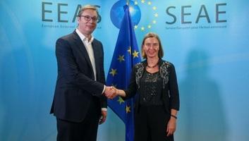 Vučić a párbeszédről és Szerbia európai integrációjáról tárgyalt Mogherinivel - illusztráció