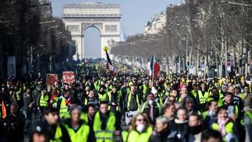 Francia zavargások: Harmadik hónapja tüntetnek a sárgamellényesek - illusztráció