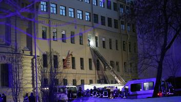 Szentpétervár: Összedőlt egy egyetemi épület több emelete - illusztráció