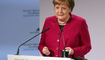 Merkel: Evropa je u nevolji, treba se boriti za nju - illusztráció