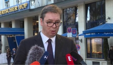 Napi fotó: Aleksandar Vučić a müncheni...