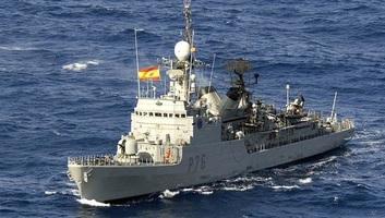 Spanyol hadihajó okozott újabb incidenst a gibraltári partoknál - illusztráció