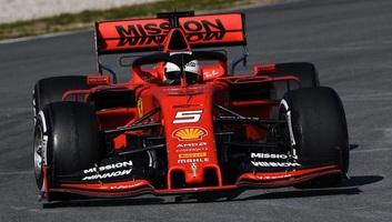 F1: A Ferrari és Vettel volt a leggyorsabb az első tesztnapon - illusztráció